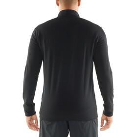 Icebreaker Momentum LS Zip Jacket Herre black